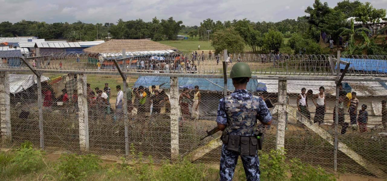 Campi Rohingya