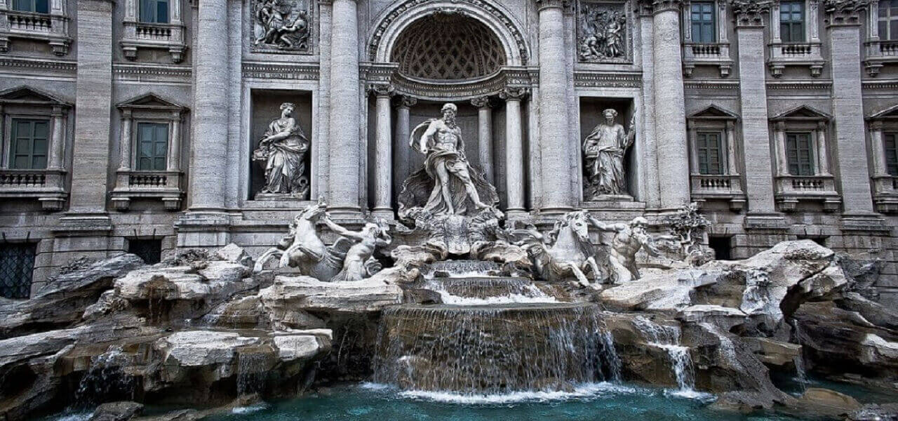 monetine fontana di trevi