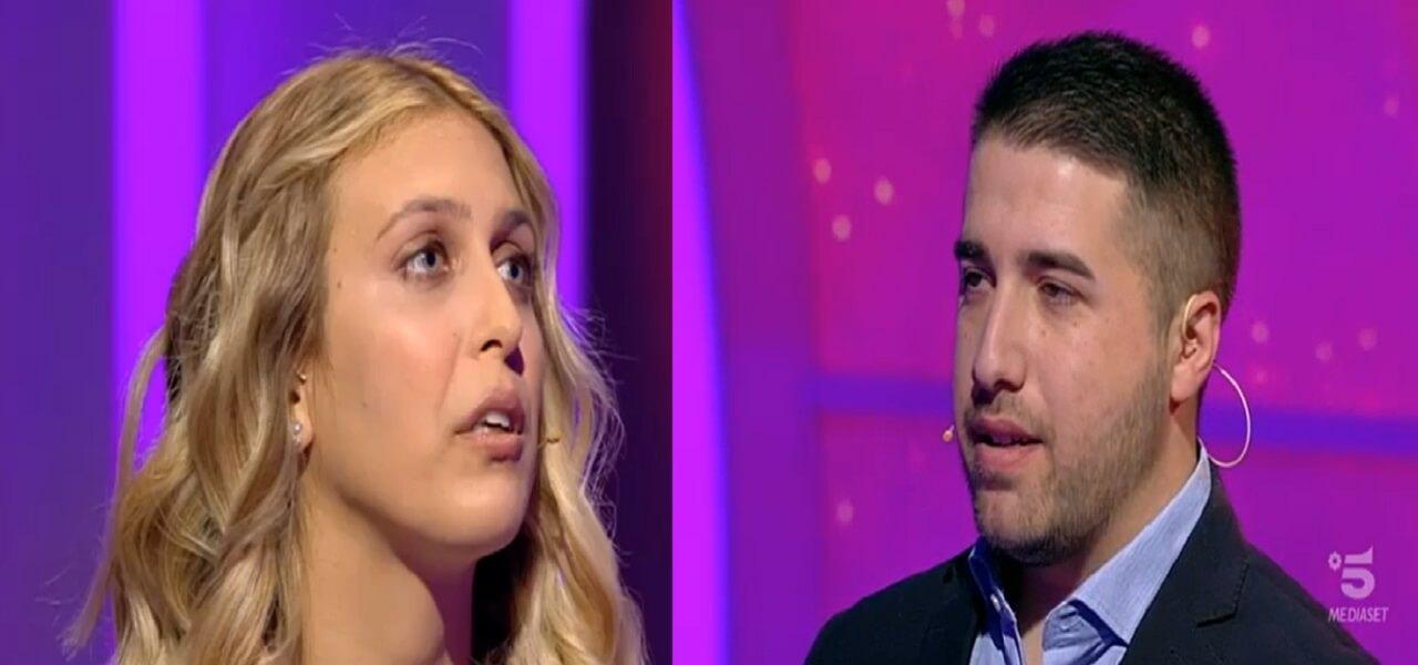 """Giulia e Matteo, un grande amore a C'è posta per te / """"Abbiamo vinto ..."""