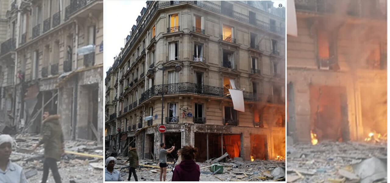 Esplosione a Parigi, ci sono morti e feriti