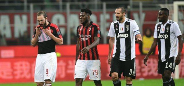 Higuain Kessie Chiellini Matuidi Juventus Milan lapresse 2019 640x300