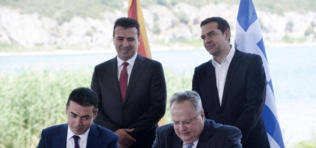 Macedonia-Grecia, l'accordo