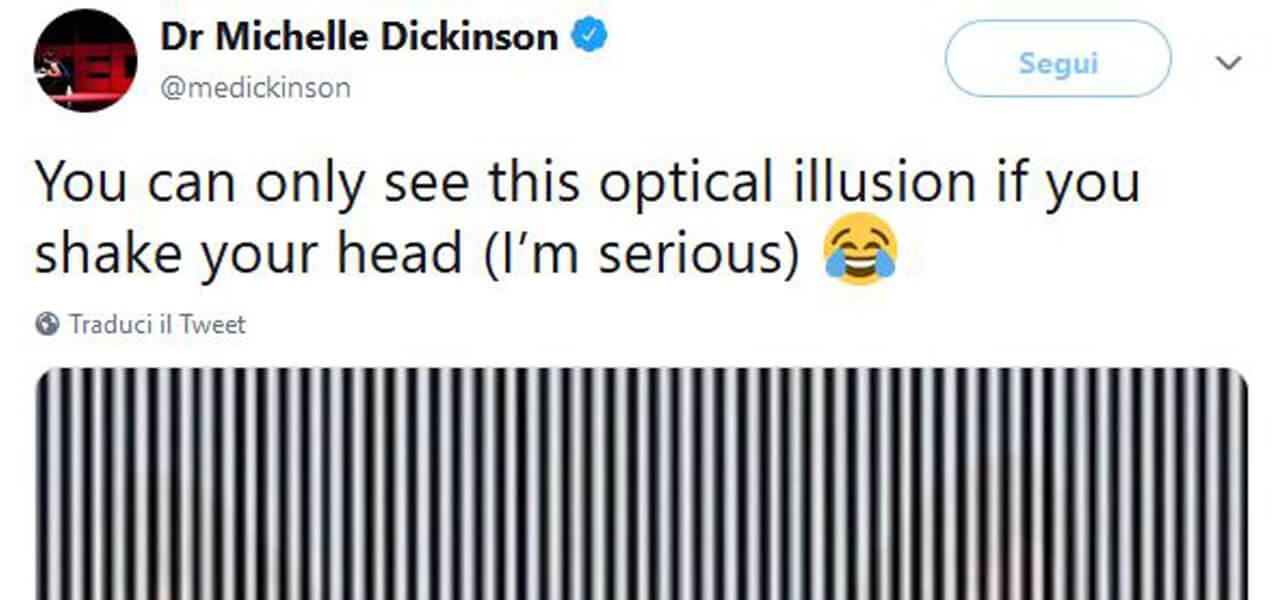 L'illusione ottica scuote i social