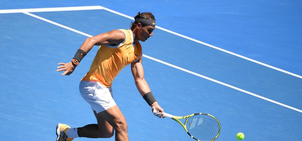 Rafa Nadal dritto Australian Open lapresse 2019