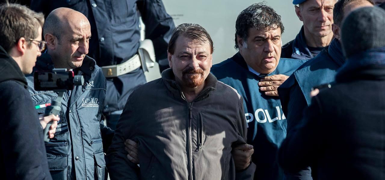 Cesare Battisti a Ciampino