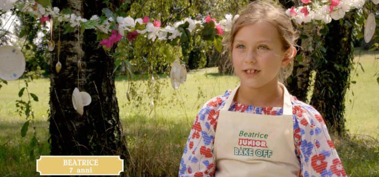 Rachele a Junior Bake Off