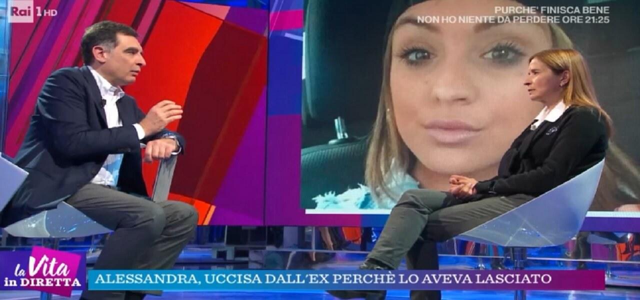 Alessandra Madonna, la madre a La Vita in Diretta