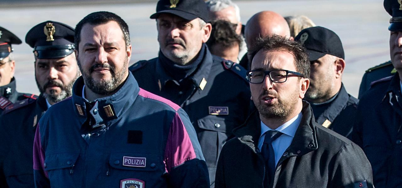 Salvini e Bonafede