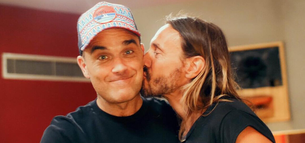 Robbie Williams e Bon Sinclair