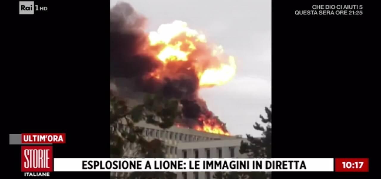 Esplosione Lione (Storie Italiane)