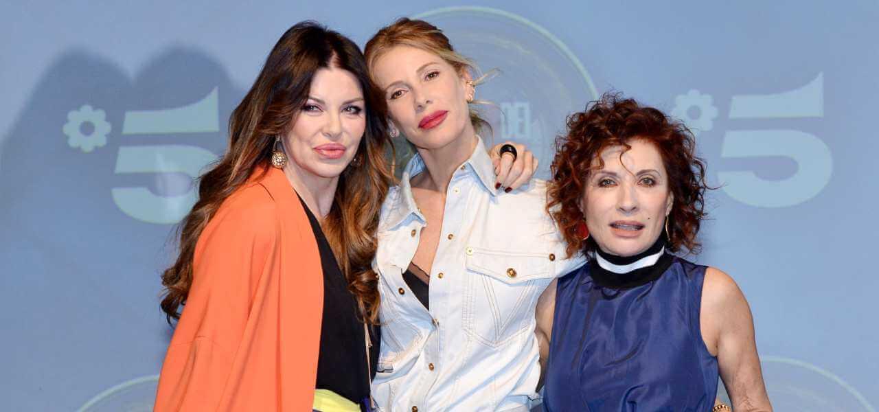 Alba Parietti, Alessia Marcuzzi e Alda D'Eusanio