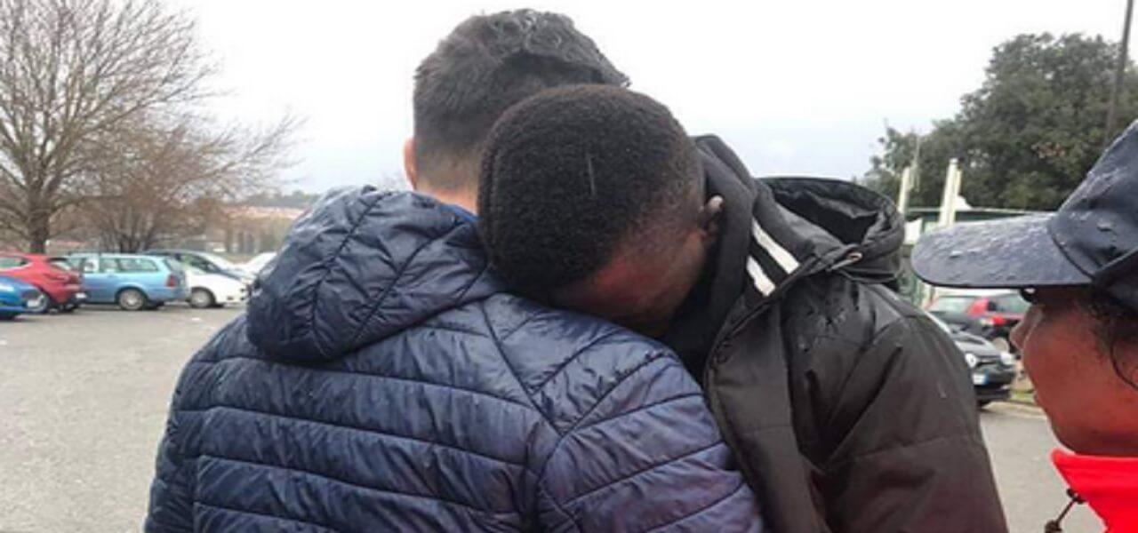 migranti cara castelnuovo del porto 2019 twitter
