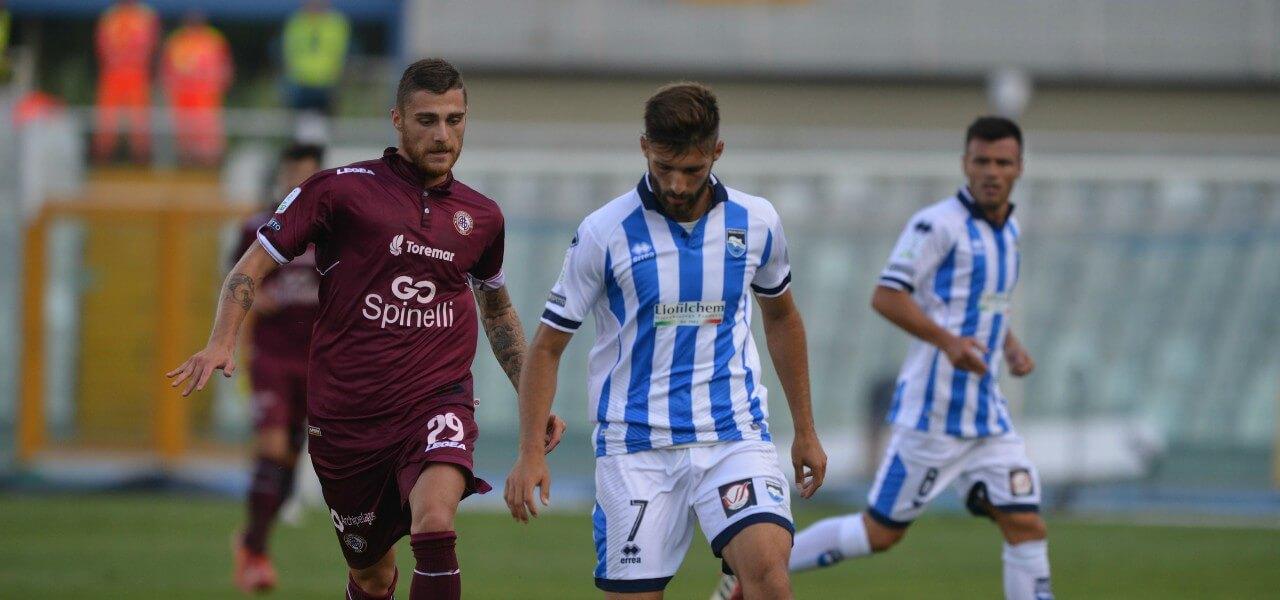 Mancuso Pescara Livorno lapresse 2019