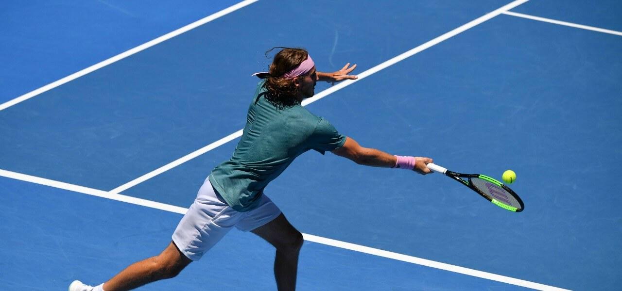 Stefanos Tsitsipas Australian Open lapresse 2019