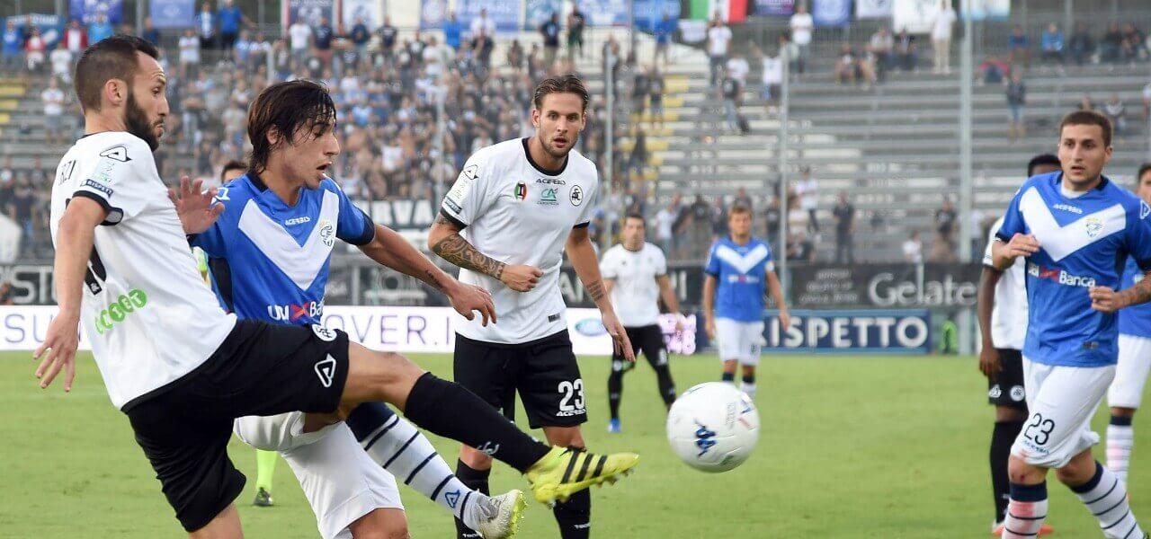Terzi Tonali Spezia Brescia lapresse 2019