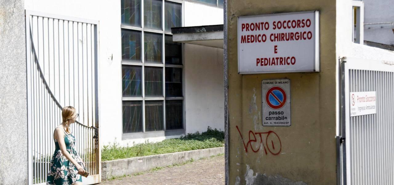 pronto soccorso ospedale fatebenefratelli milano lapresse 2019