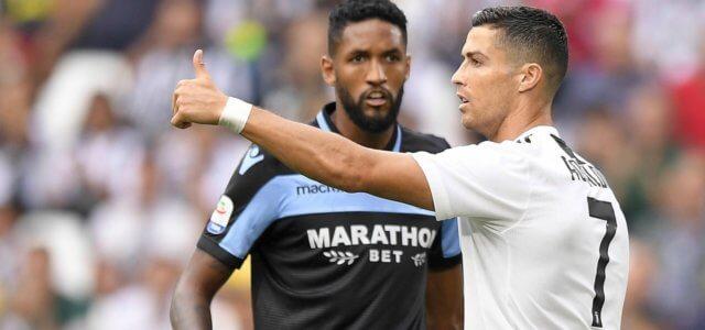 Cristiano Ronaldo Wallace Juventus Lazio lapresse 2019 640x300