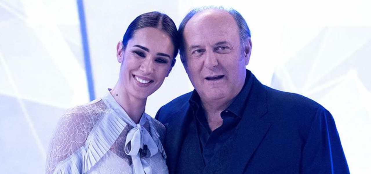 Silvia Toffanin e Gerry Scotti
