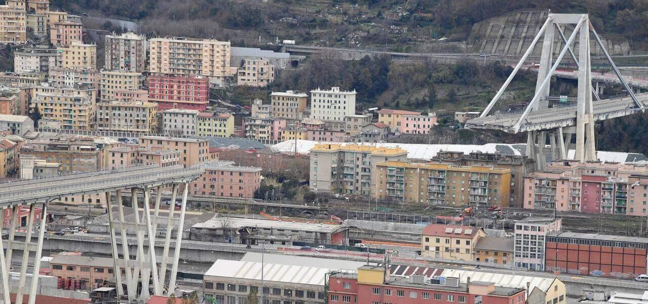 Ponte Morandi a Genova