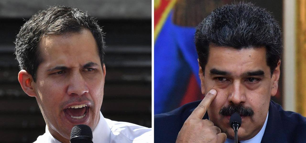 Guaidó vs Maduro in Venezuela