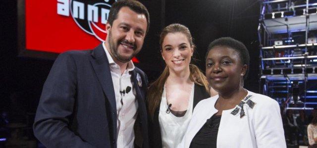 Salvini e Kyenge