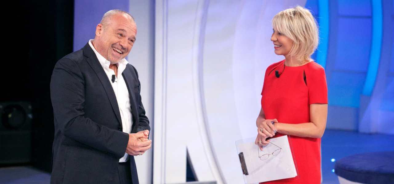 Claudio Amendola e Maria De Filippi