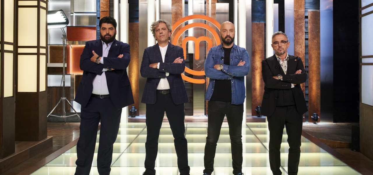 I quattro giudici di MasterChef Italia