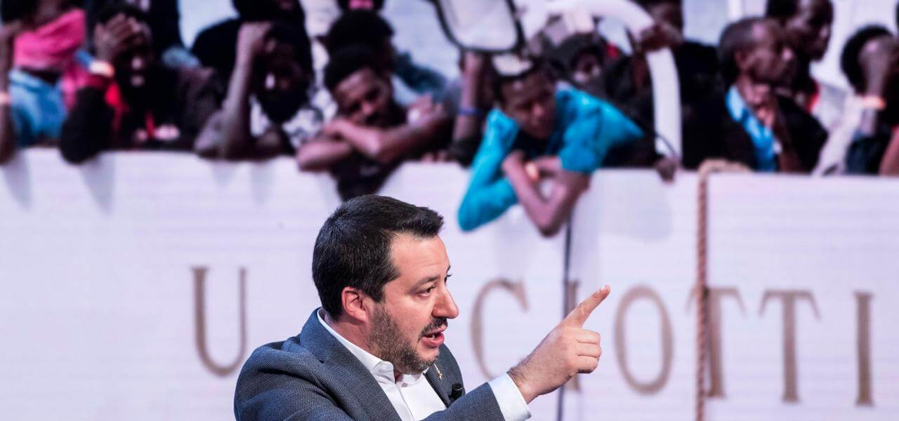 Salvini a Porta a Porta