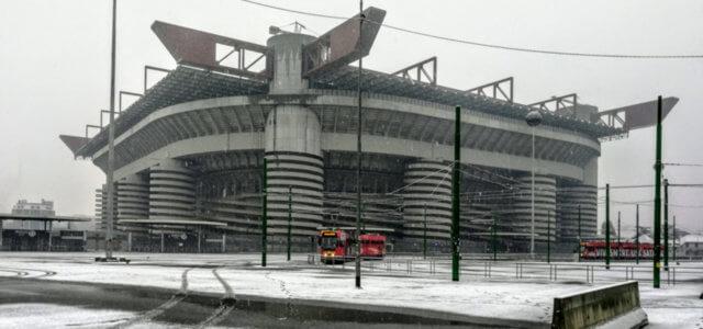 Neve a Milano, big snow arrivato