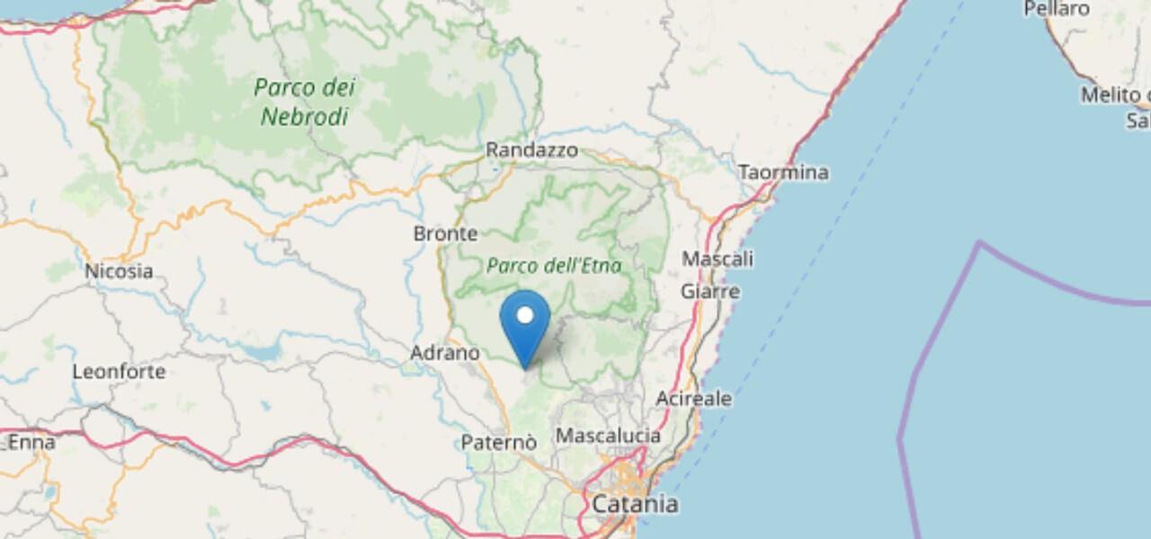 terremoto catania 1 febbraio 2019