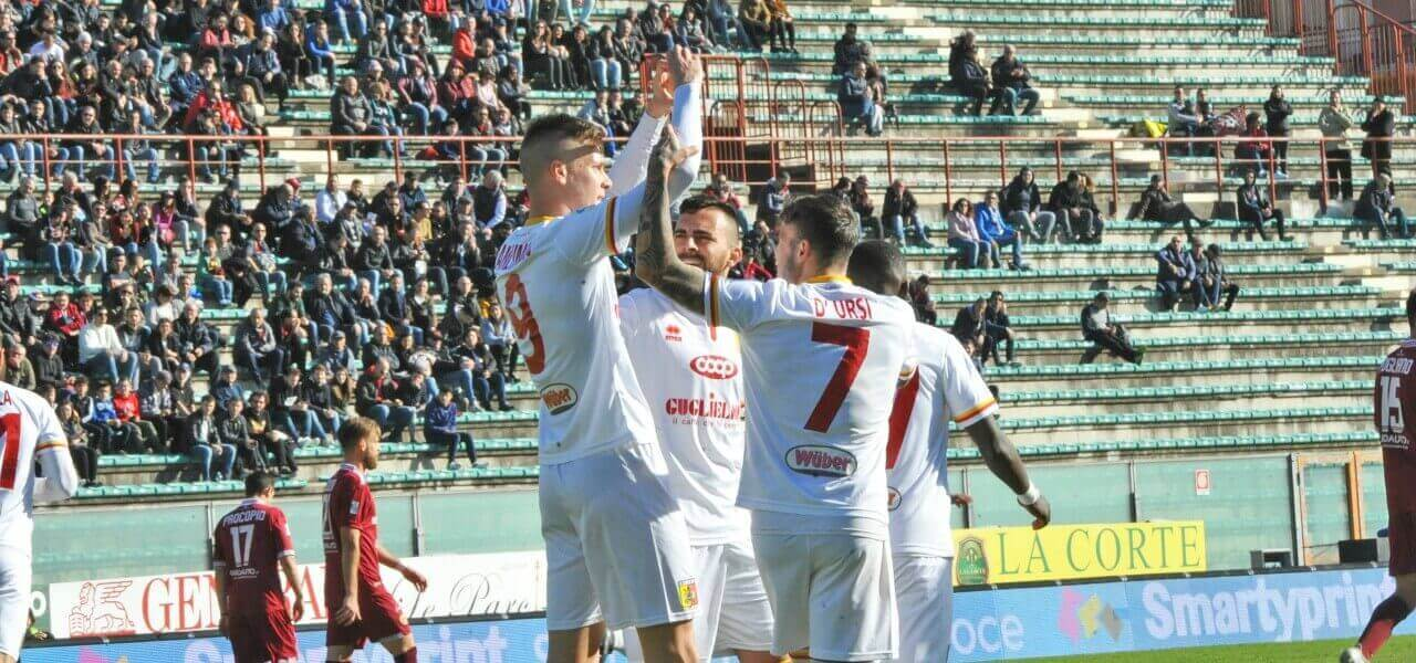 Bianchimano DUrsi Catanzaro gol lapresse 2019