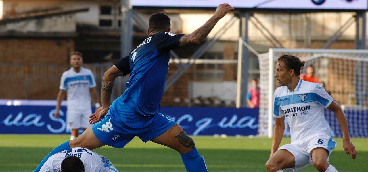 DiLorenzo Leiva Empoli Lazio lapresse 2019