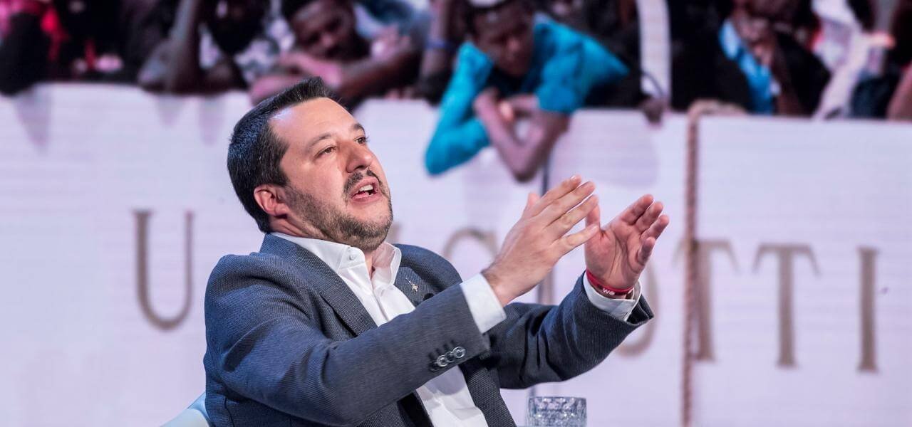 Matteo Salvini migranti