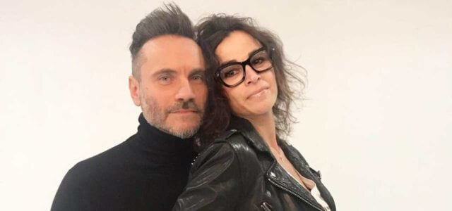 Nek e la moglie Patrizia Vacondio
