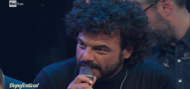 Francesco Renga al Dopofestival