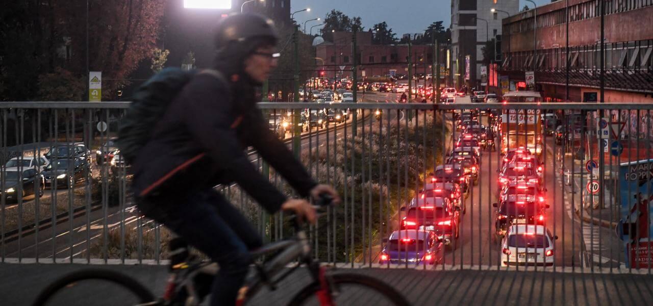 Codice della strada, traffico a Milano