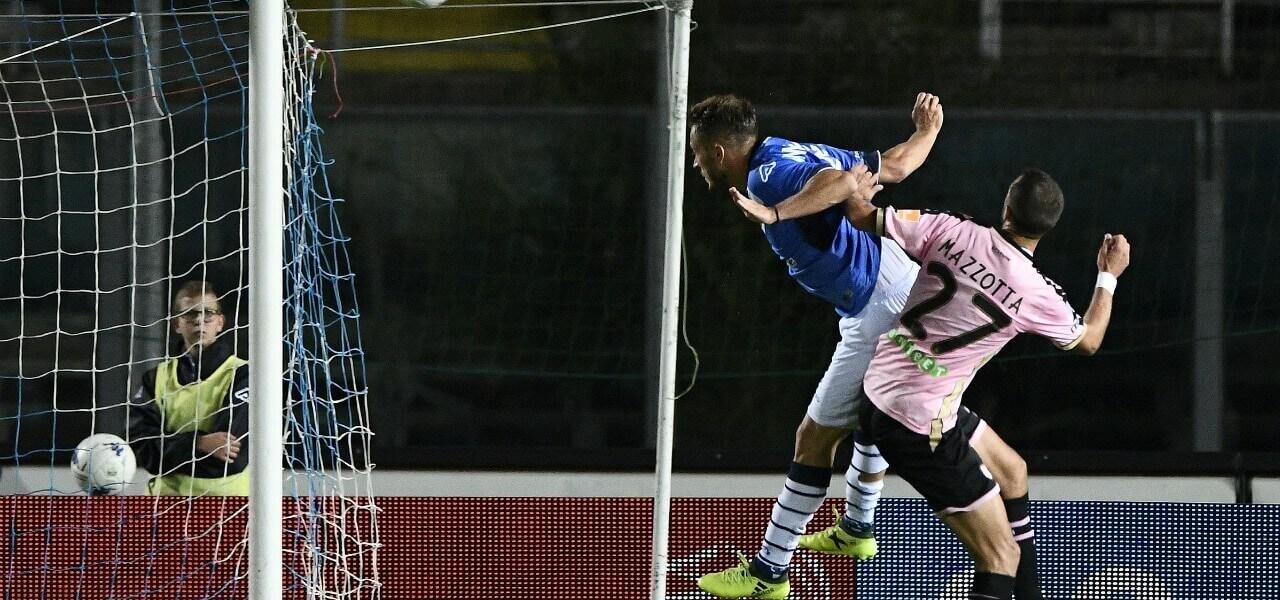 Donnarumma Mazzotta Brescia Palermo lapresse 2019