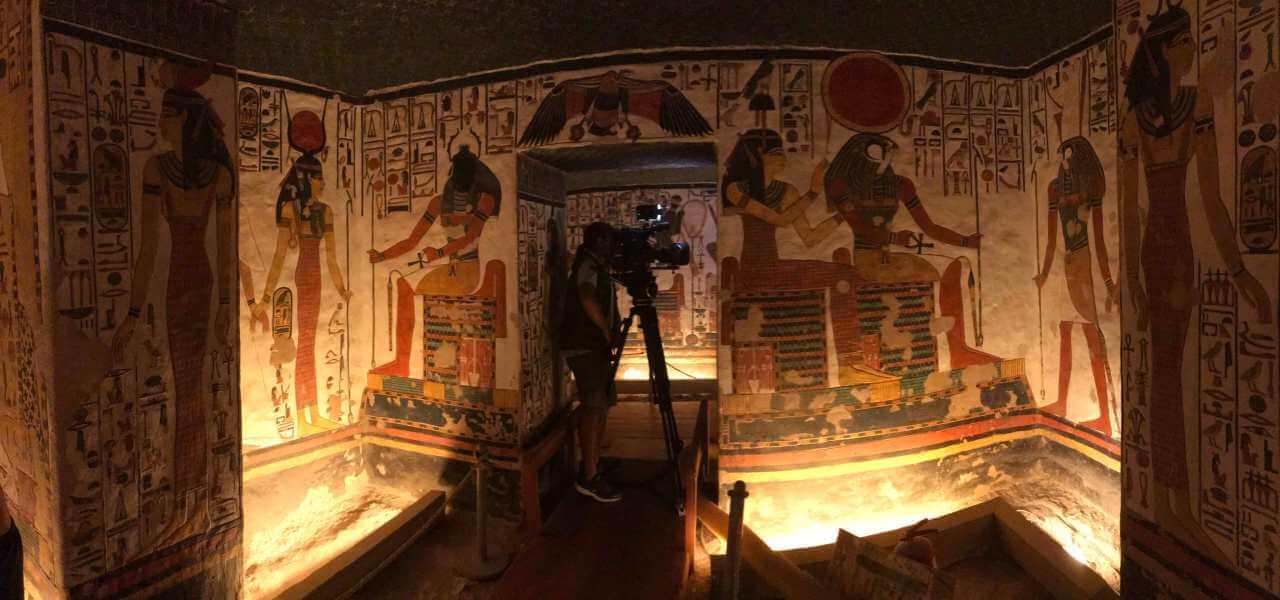 Il sepolcro della Regina Nefertari