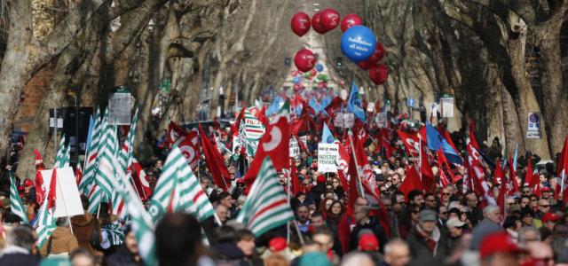Sindacati Manifestazione Roma Lapresse1280 640x300