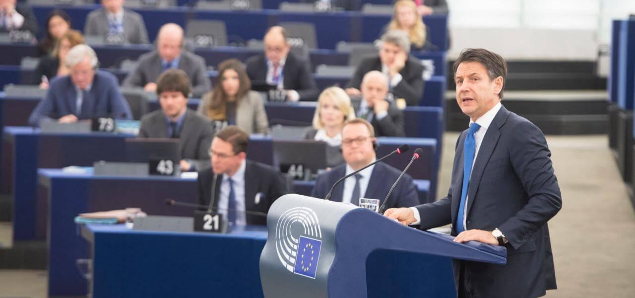 Conte al Parlamento Ue