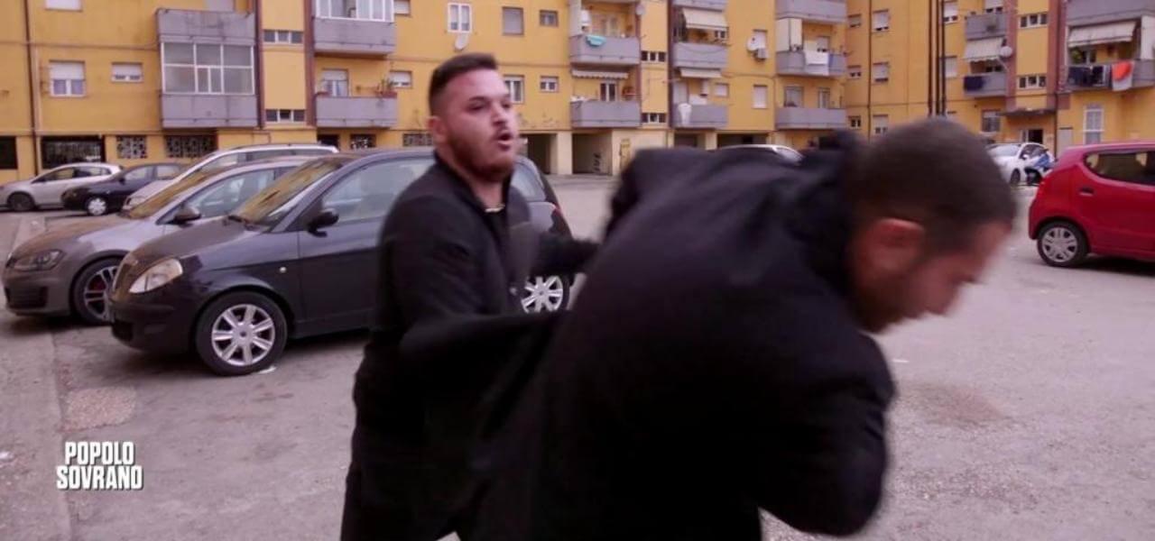 Daniele Piervincenzi picchiato a Pescara