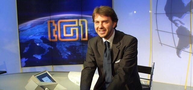Il giornalista Francesco Giorgino
