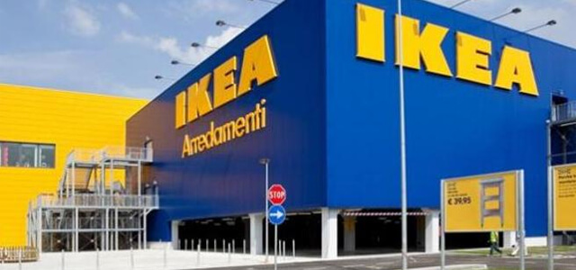 L'Ikea di Corsico, dove è avvenuto il fattaccio