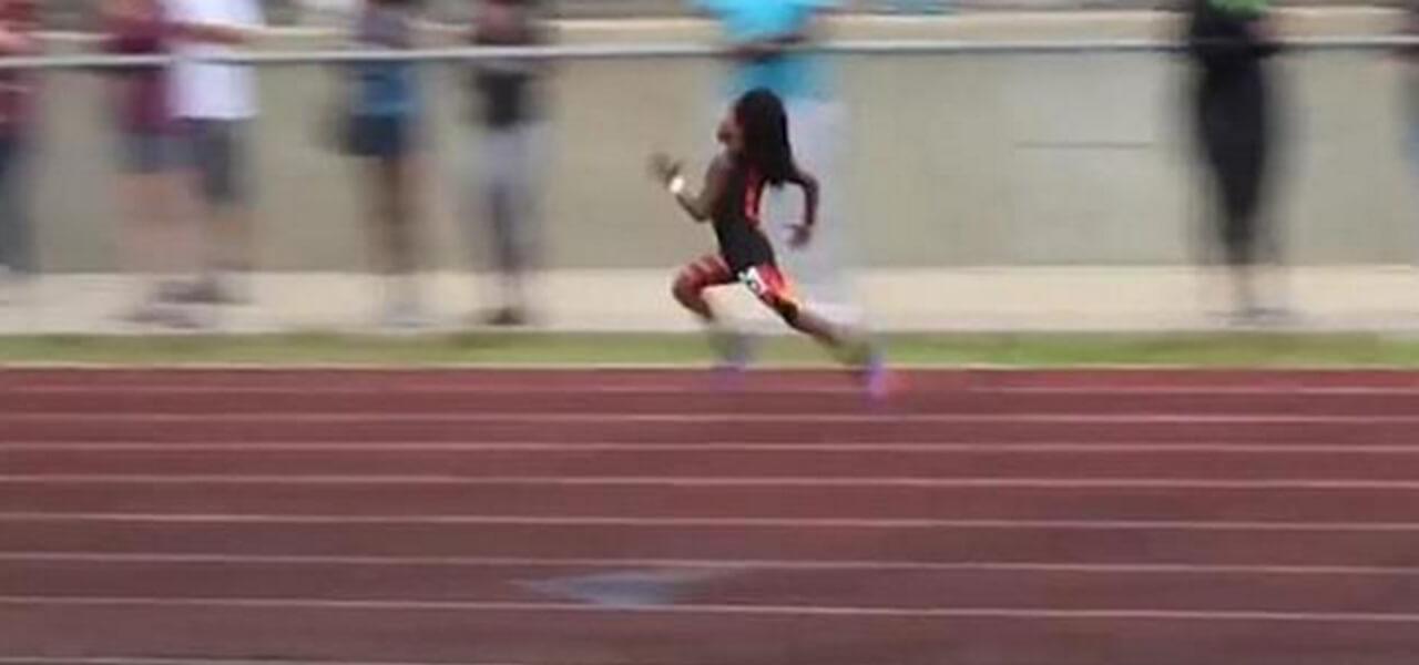 Rudolph Ingram: bambino più veloce al mondo