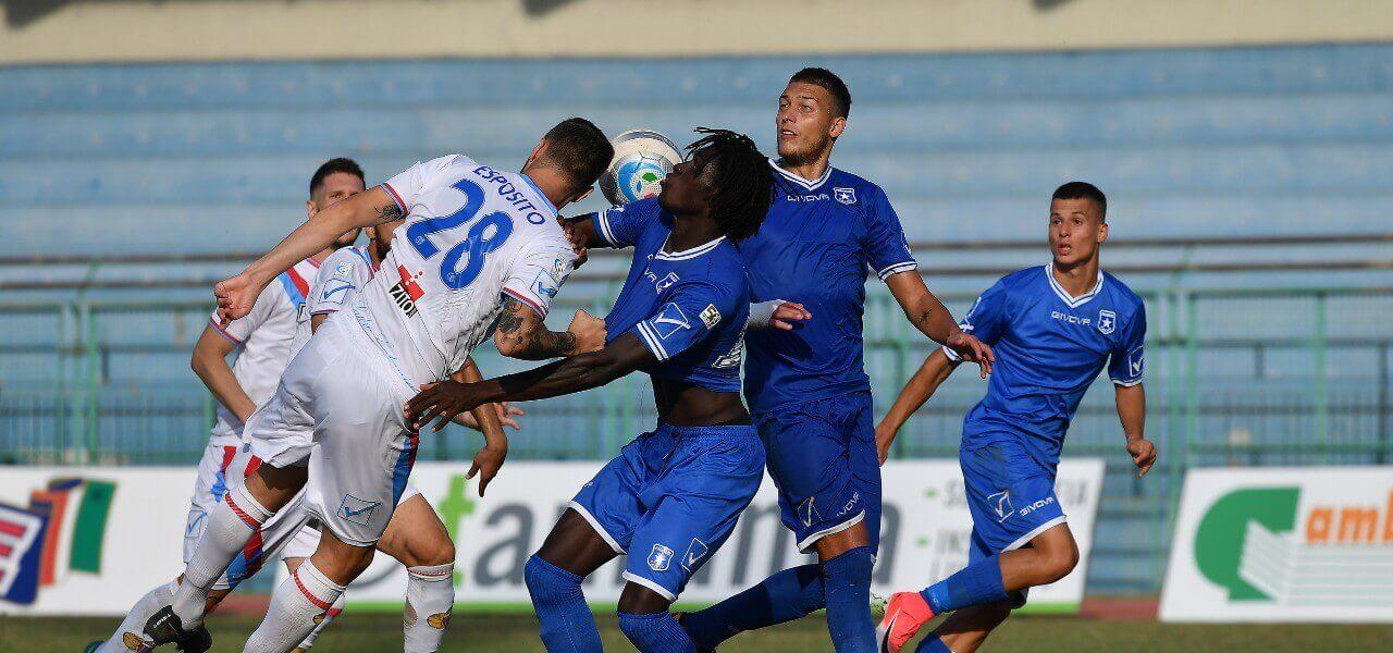 Esposito Diop Catania Paganese lapresse 2019