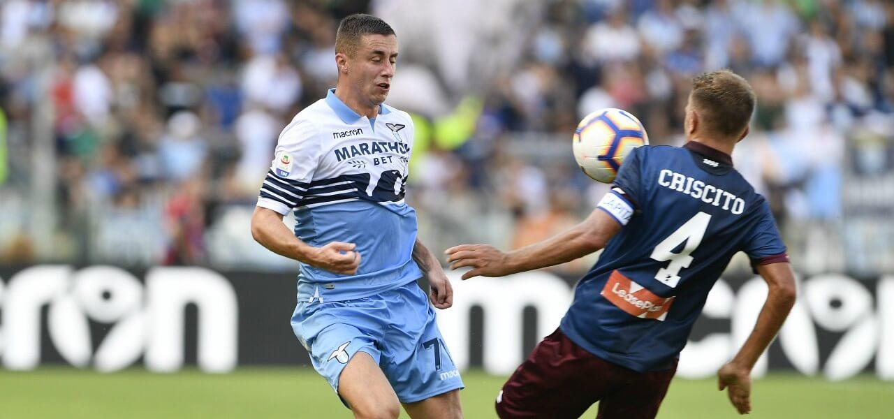Marusic Criscito Lazio Genoa lapresse 2019