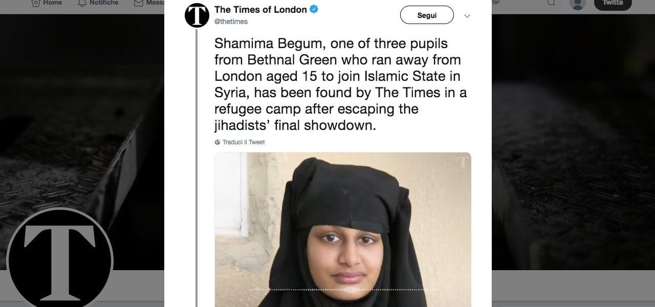 La sposa jihadista
