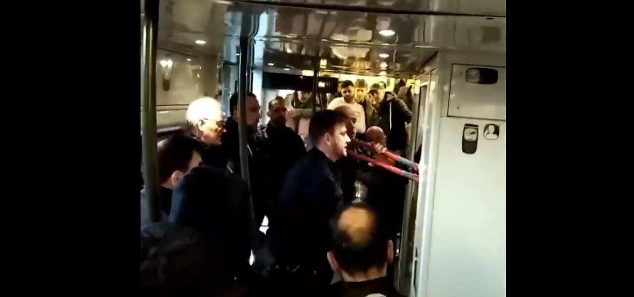 polizia francese spray urticate
