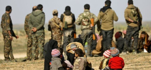 Forze curde anti-Isis