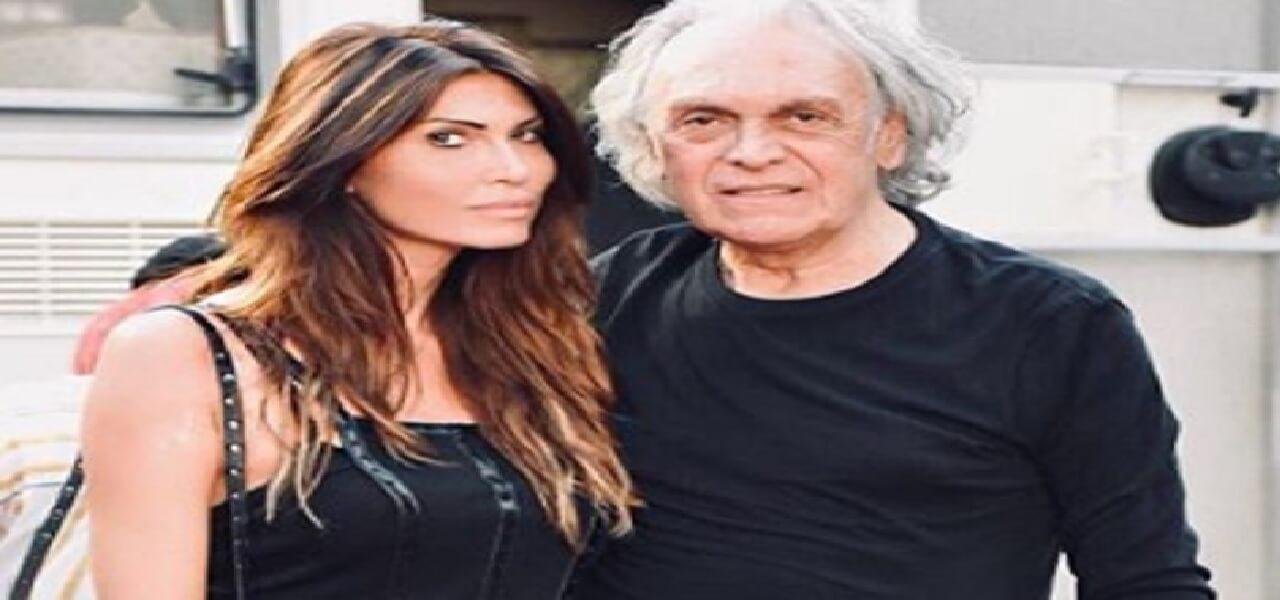 Riccardo Fogli e la moglie Karin Trentini